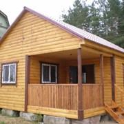 Дачный домик для рыбака фото