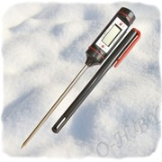 Цифровой термометр-ручка фото