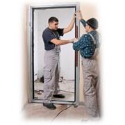 Монтаж входных стальных дверей Луцк фото