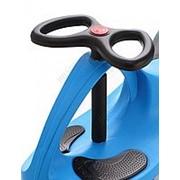 Машинка детская, БИБИКАР с полиуретановыми колесами, синяя DE 0045 фото