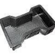 Пластиковая форма 34 двойное т 34 , 230 мм х 140 мм х 60,80 мм 40 шт/кв.м фото