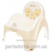 Горшок-кресло Tega веселка ms-012 teddy bear белый фото