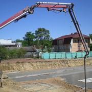 Услуги бетононасоса фото