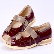 Туфли детские профилактические фото