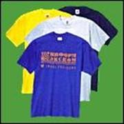 Футболки. Изготовление футболок с логотипом. Футболки с нанесением логотипа, фирменной символики. фото