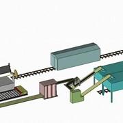 Разгрузочный комплекс. Комплекс оборудования по подготовке, разгрузки полувагонов со смерзшимися материалами фото
