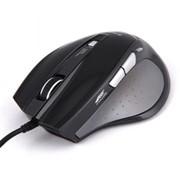 Мышь Zalman ZM-M400, USB, Gaming Optical Mouse 1600dpi, Black фото