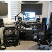 Звукозапись на студии фото
