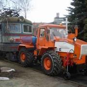 Мотовоз маневровый ММТ-2 на базе трактора ХТА-220. фото