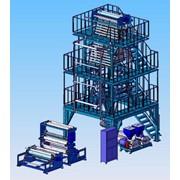 Линия для производства полиэтиленовой пленки модели ВМ-1700 фото