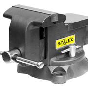 Тиски слесарные Гризли M80 200х200 мм Stalex фото