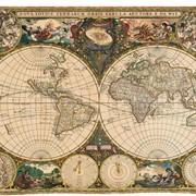 Гобелен Старая карта мира Артикул: 1447 фото