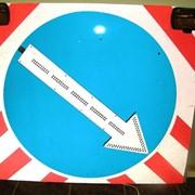 Светодиодный дорожный знак (импульсная стрелка) фото