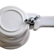 Кран пластмассовый 6/4 для медогонки или отстойника фото