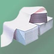 Бумага перфорированная фальцованная ЛФП 420 SL D Котлас. 60г/м2, 100% фото