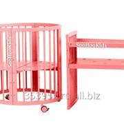 Кроватка SooHookids Розовое золото 8 в 1 фото