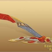 Нож сувенирный Огонь. фото