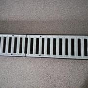 Алюминиевые ливневые решетки для лотков серии DN10 фото