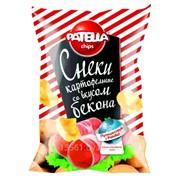 Снеки картофельные PATELLA Chips Мега-пачка 120 г фото