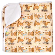 Впитывающая пеленка GlorYes! Медвежонок 80х68 см фото