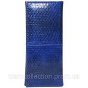 Ключница из кожи морской змеи. EXCLUSIVE SNKH 01 Dark Blue фото