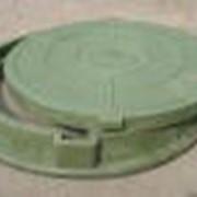 Люк лёгкий зелёный Л (А30) – 42 кг. полимерно-композитный РБ фото