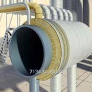 Каменноватные цилиндры с кашировкой алюминиевой фольгой Isotec Section AL, внутренний диаметр 45 мм фото