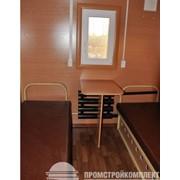 Вагон на шасси Столовая, 8х2,5м., помещение для проживания персонала. фото