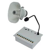 Система громкоговорящей связи СГС-01 для организации оперативной избирательной громкоговорящей связи внутри промышленной зоны (производственные, хозяйственные, складские помещения и др. объекты фото