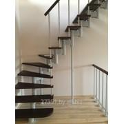 Изготовление лестниц на второй этаж фото