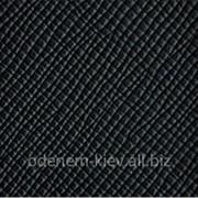Автомобильная кожа 17 черная для перетяжки сидений фото