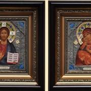 Иконы венчальные №106 - Венчальная пара фото