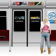 Размещение рекламы на станциях метрополитена, Реклама в метро Санкт-Петербурга фото