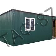 Бытовка строительная 6х2,4х2,3м, дачный домик фото