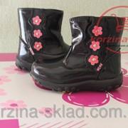 Демисезонный ботинки для девочки фото