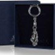 Argenta Серебряный Брелок для ключей Обезьяна - не скажу с чернением, пр.925 Argenta - 828БР15006 14 г фото