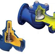 Клапан обратный поворотный Broen фото