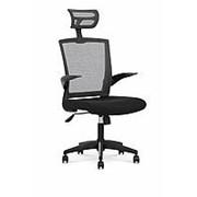 Кресло компьютерное Halmar VALOR (черный/серый) фото