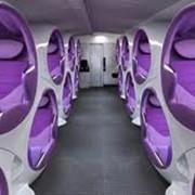 Сидения для самолетов фото