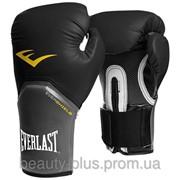 Тренировочные боксерские перчатки Everlast Pro Style Elite 8унц. черные, арт. 2308Y фото