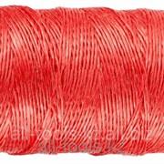 Шпагат Зубр многоцелевой полипропиленовый, красный, 1200текс, 60м Код:50039-060 фото