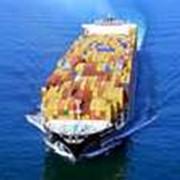 Грузоперевозки морские контейнерные фото