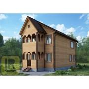 Дом из бруса Проект №39 (6х9) фото