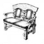 Кресла для кафе с кож.зама фото