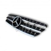 Решетка радиатора (Sport line, черная) на Mercedes W-163, декоративная решетка радиатора фото
