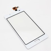 Тачскрин (сенсорное стекло) для LG P700/P705 white фото