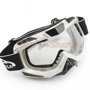 Кроссовые очки Vega MJ-1016 White фото
