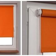 Рулонные шторы открытого типа фото
