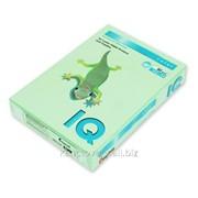 Бумага цветная пастельная Mondi IQ, А4/80, 500л. MG28, зеленый фото