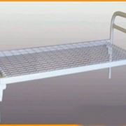 Металлическая кровать бытовая С-С1 фото